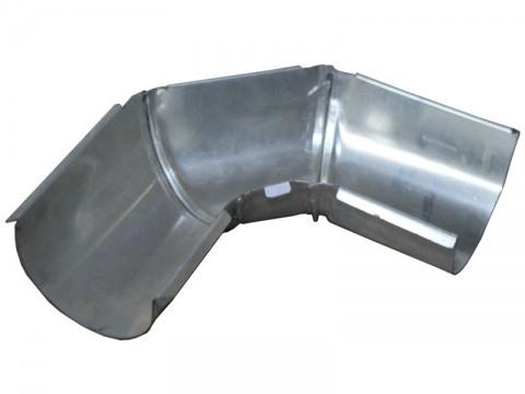 Желоб водосточный угловой из оцинкованной стали