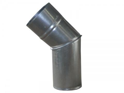 Колено водосточное из оцинкованной стали