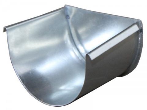 Заглушка для желоба из оцинкованной стали