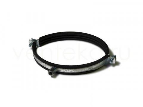 Хомут для воздуховодов D250 мм с уплотнителем (Supler) М8