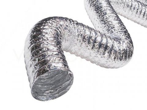 Воздуховод гибкий неизолированный D203