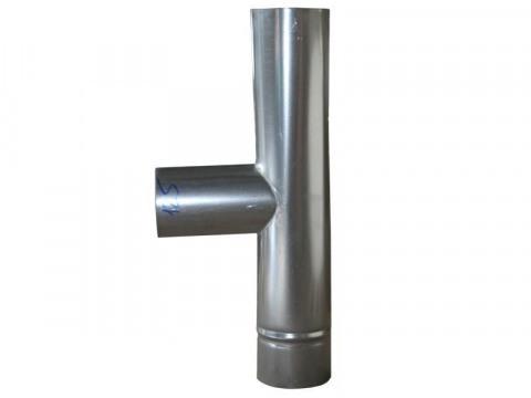 Тройник газохода из оцинкованной стали
