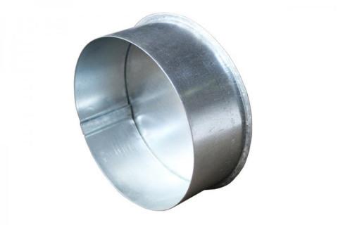 Заглушка газохода из оцинкованной стали