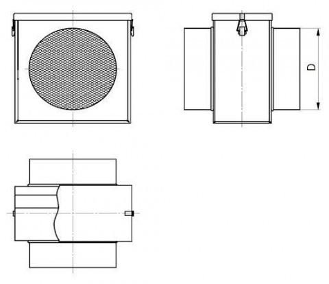 Фильтр для круглых каналов