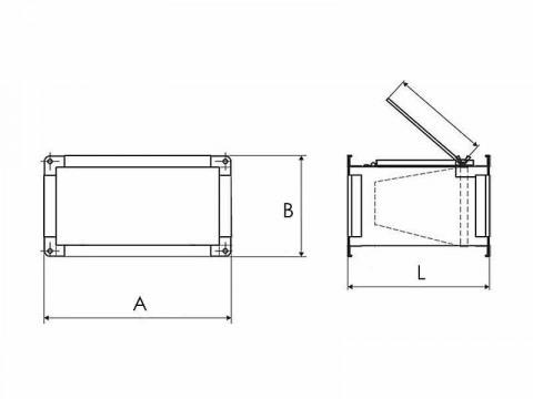 Фильтр карманный для прямоугольных каналов